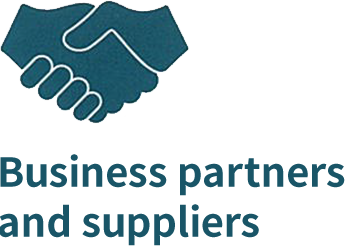 Business partners and suppliers